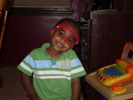 Caleb at age 2