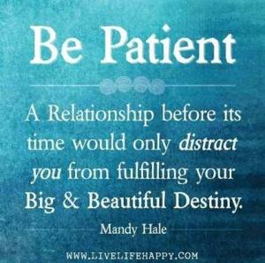 relationship patience