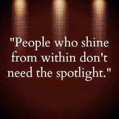Shine from within
